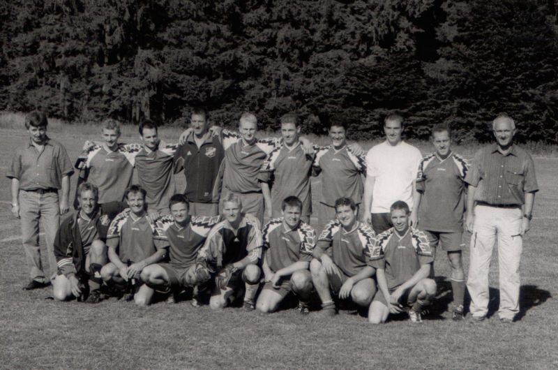 2001 Relegationsspiel in Hengen